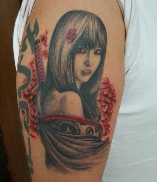 Gorgeous Geisha Tattoos