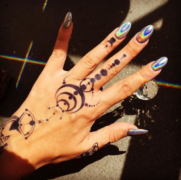 Hand And Finger Tattoos 1