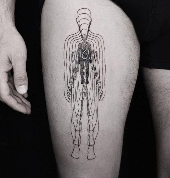 Human Leg Tattoos
