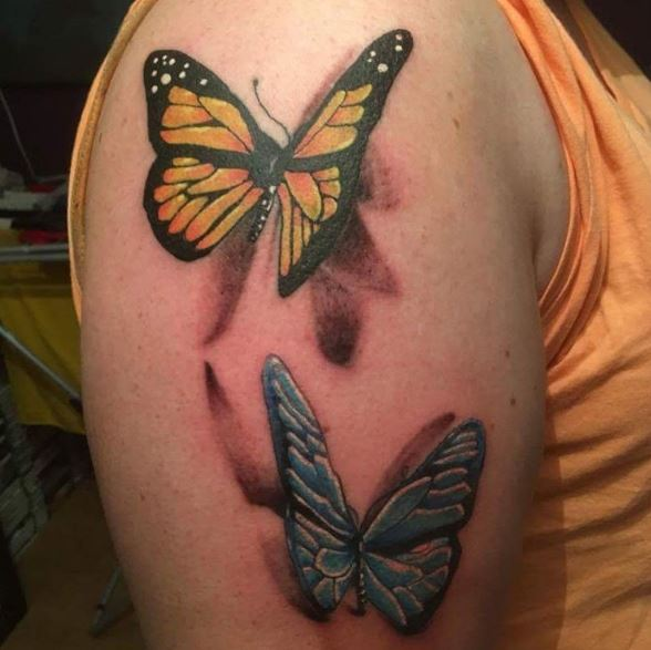 Images Of Butterfly Tattoos