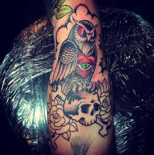 Images Of Owl Tattoos