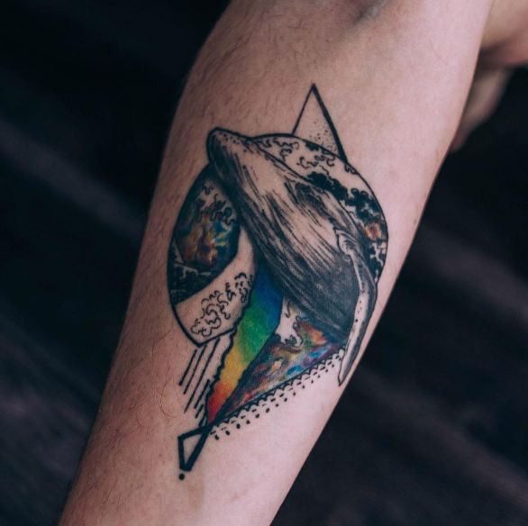Inspiration Whale Tattoos