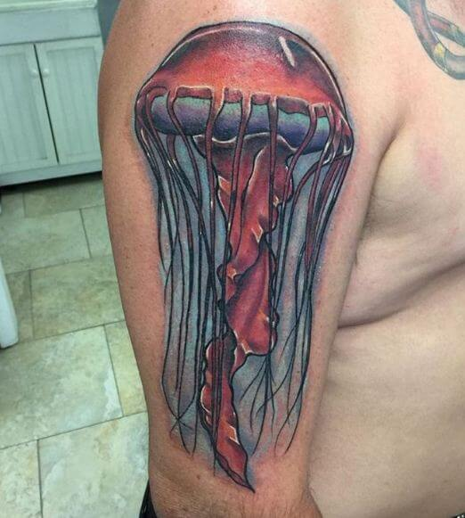 Jellyfish Tattoos For Male