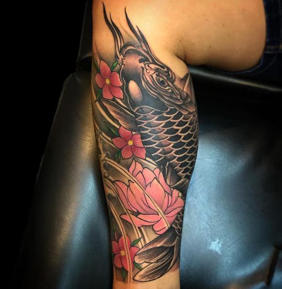 Koi Fish Chinese Tattoos