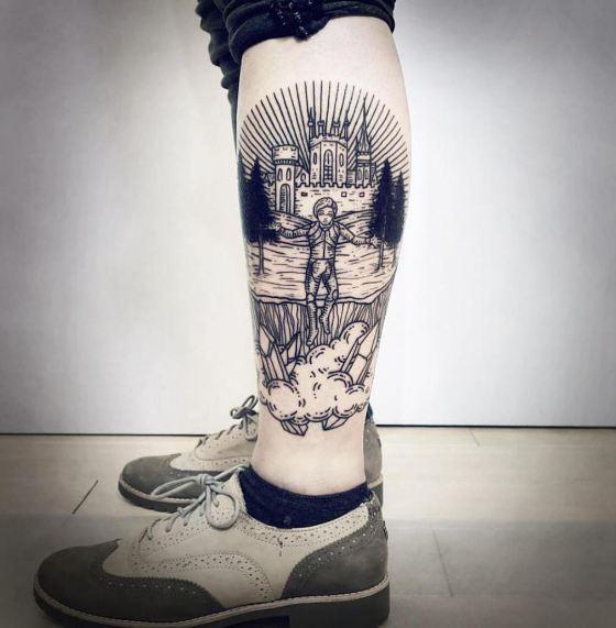 Leg Tattoos Cover Ups