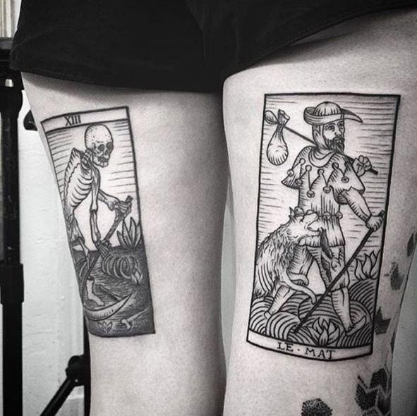 Leg Tattoos For Males