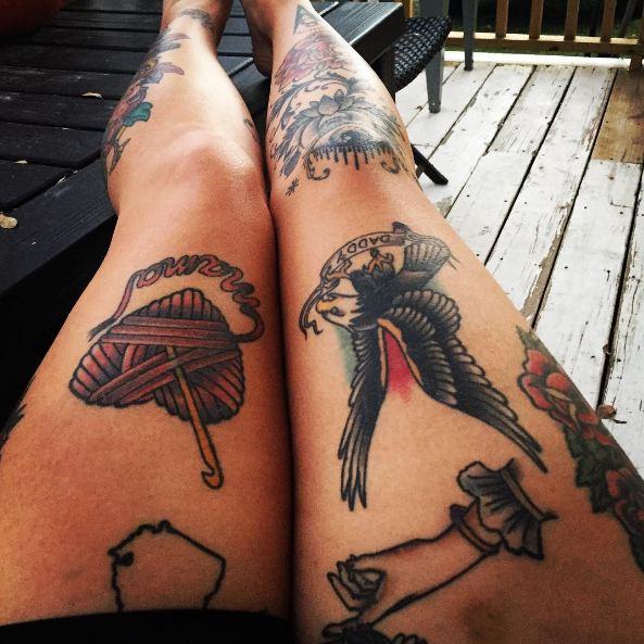 Leg Tattoos For Women