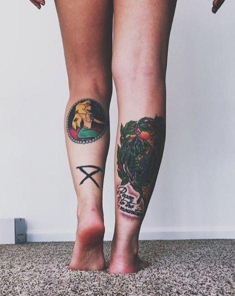 Leg Tattoos Tumblr