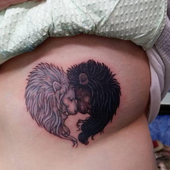 Lion Heart Tattoos