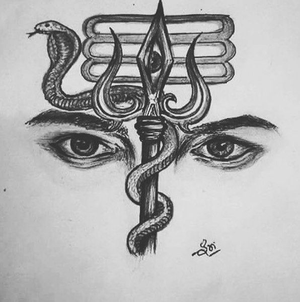 150 Angry Lord Shiva Tattoos For Men 2020 Trishul Om Mahadev Designs