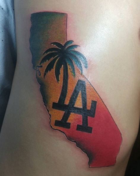 Los Angeles California Tattoos