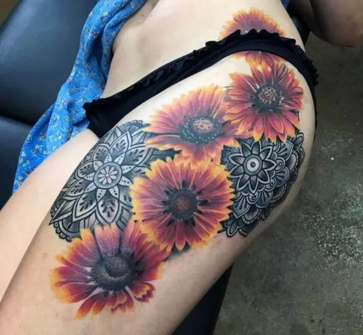 Mandala Cover Up Tattoo