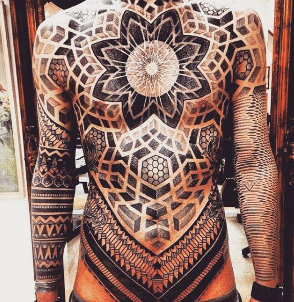 Mandala Full Body Tattoos