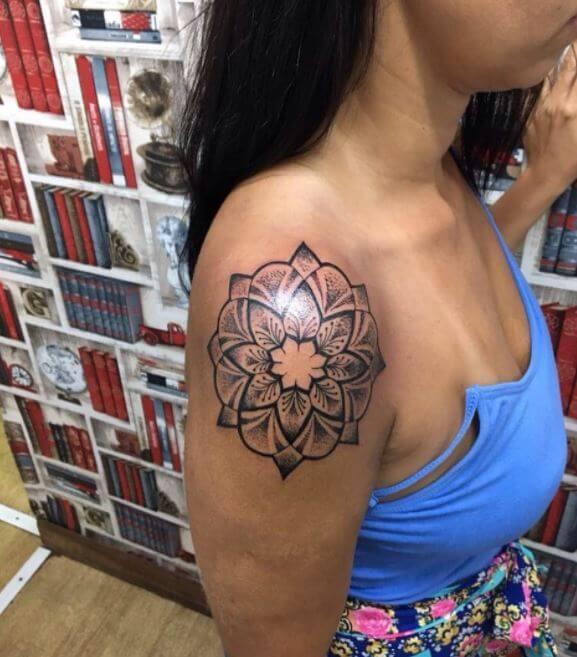 Mandala Girl Tattoos