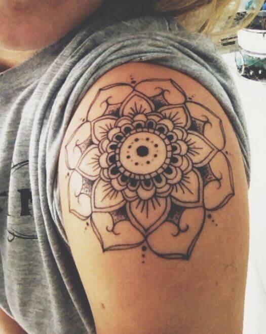 Mandala Sleeve Tattoo Designs