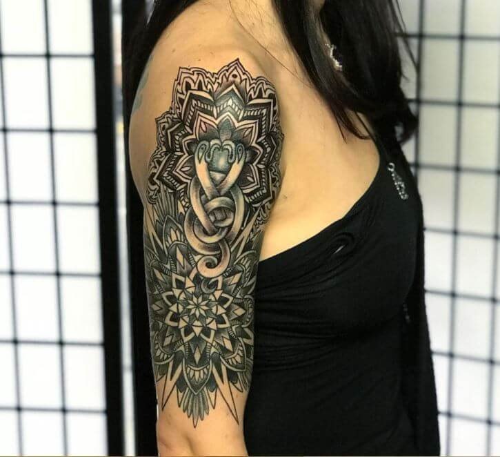 Mandala Style Tattoo