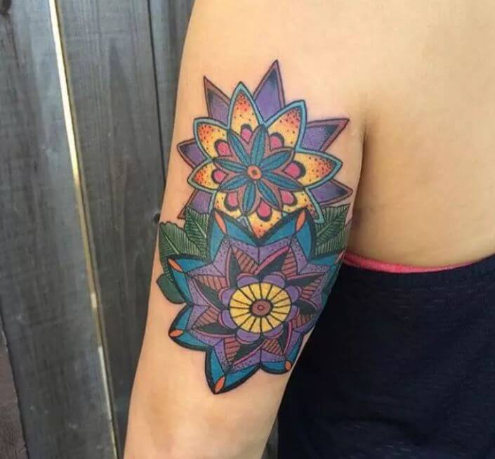 Mandala Tattoo Arm