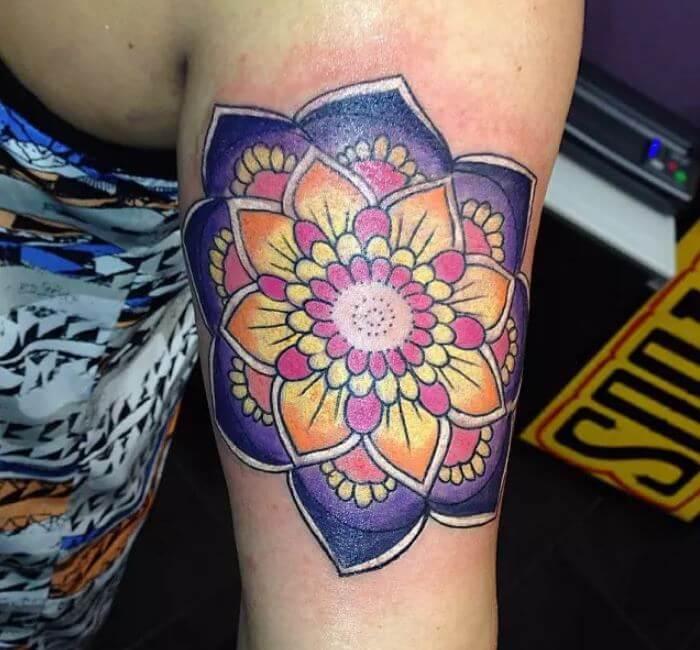 Mandala Tattoo Flash