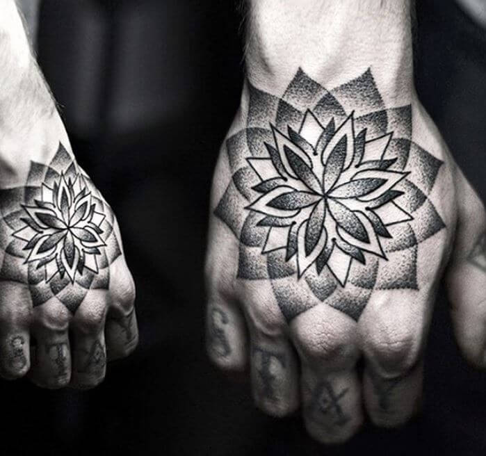Mandala Tattoo For Guys