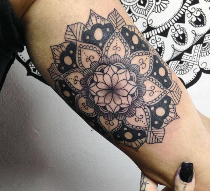 Mandala Tattoo Idea