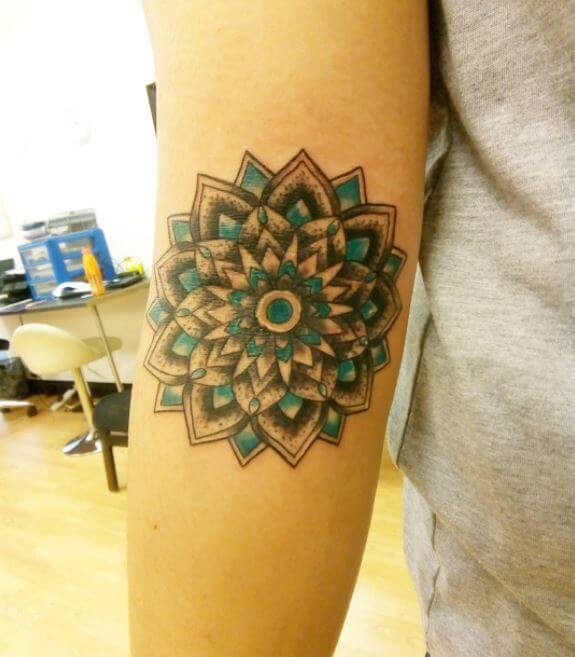 Mandala Tattoo Women