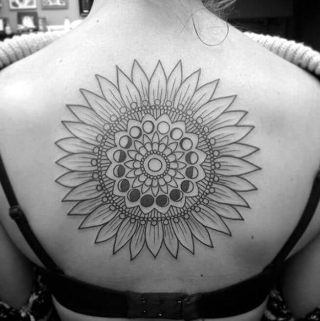 Mandala Temporary Tattoo (1)