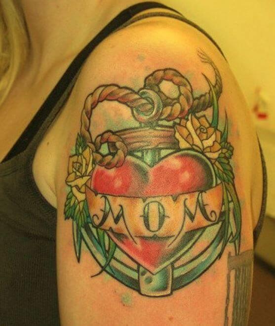 Mom Anchor Tattoos