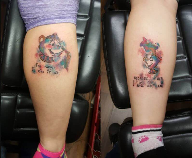 Mom And Daughter Tattoo Ideas