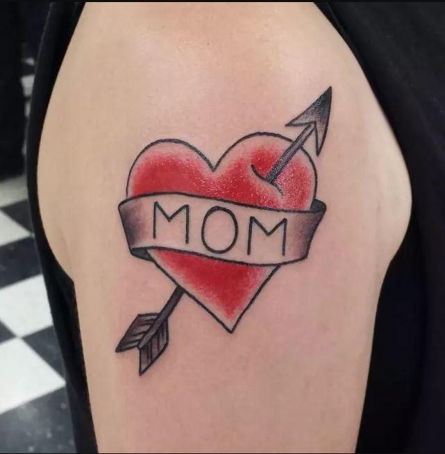 Mom Heart Tattoos