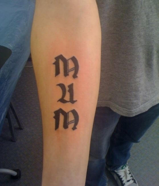 Mom Tattoos On Forearm