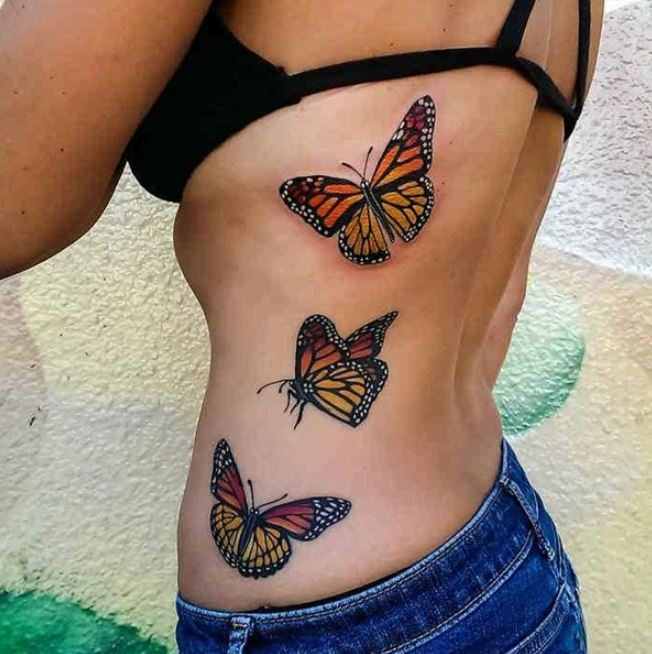 Monarch Butterfly Tattoos
