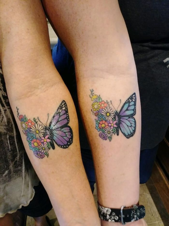 Mother Daughter Son Tattoo (4)