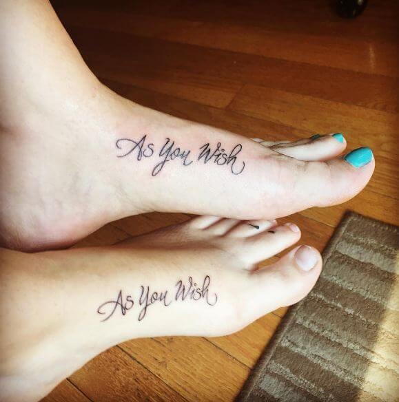 Mother Daughter Tattoos Designs
