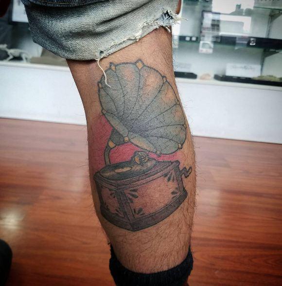 Music Leg Tattoos