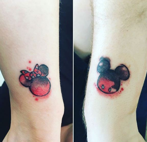 Nerdy Couple Tattoos