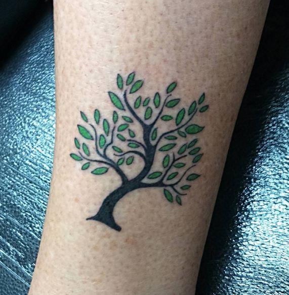Oak Tree Tattoos
