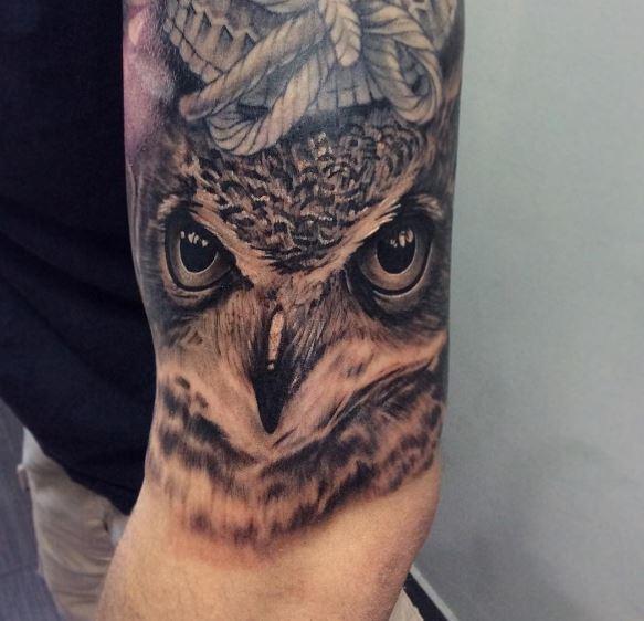 Owl Arm Tattoos