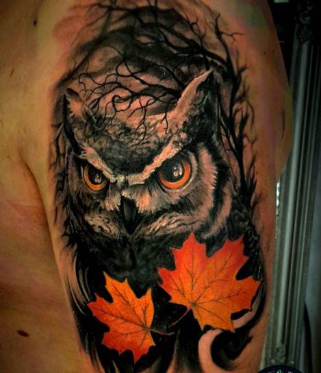Owl Tattoos For Men