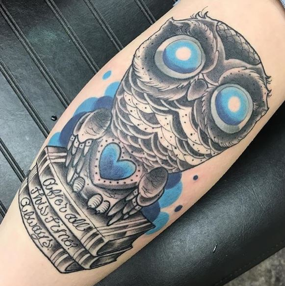 Owl Tattoos Meanings