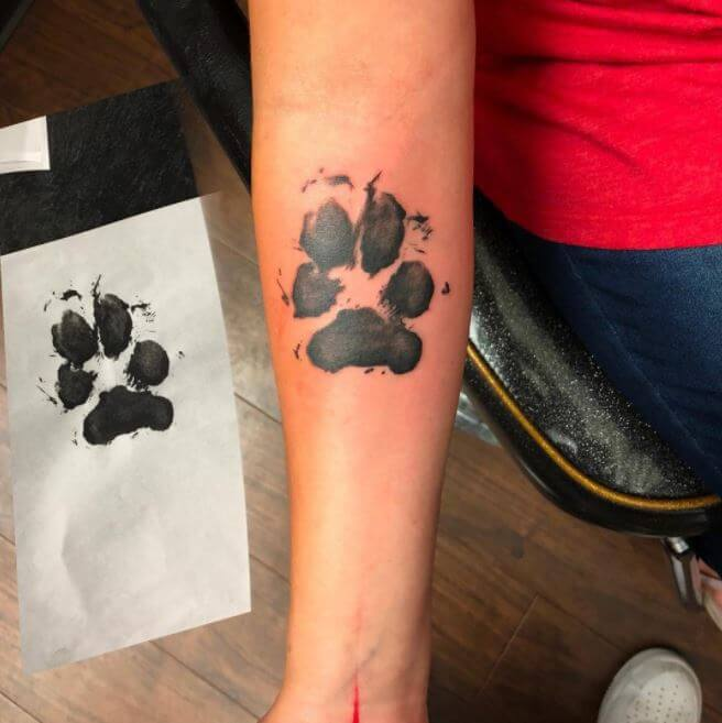 Paw Tattoos Meaning