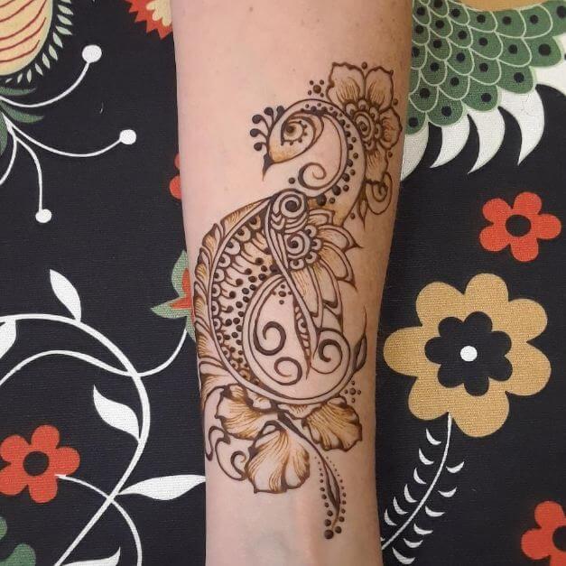 Peacock Henna Tattoos