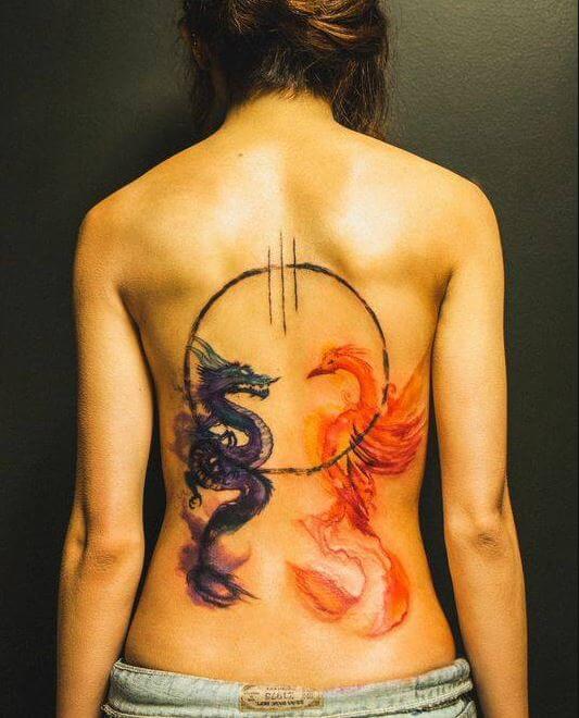Phoenix Tattoos Surrey Bc