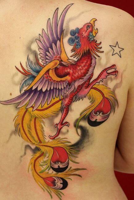 Phoenix Yakuza Tattoo