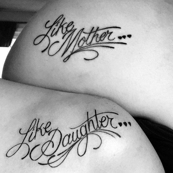 Pics Of Mother Daughter Tattoo (1)