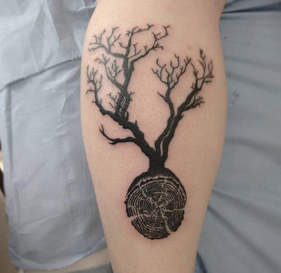 Realistic Tree Tattoos