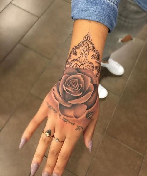 Red Rose Tattoos Designs (3)