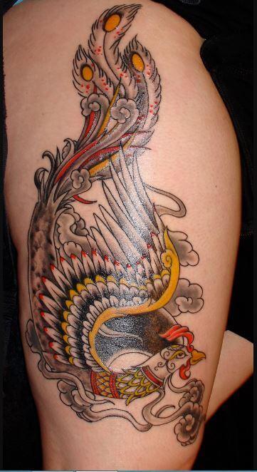 Rising Phoenix Tattoo Kalamazoo Mi
