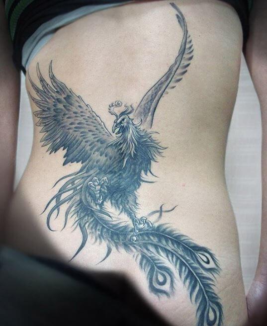 Rising Phoenix Tattoo Queens