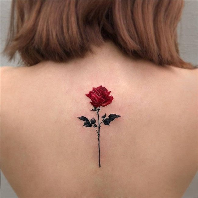 Rose And Flower Tattoos (10)