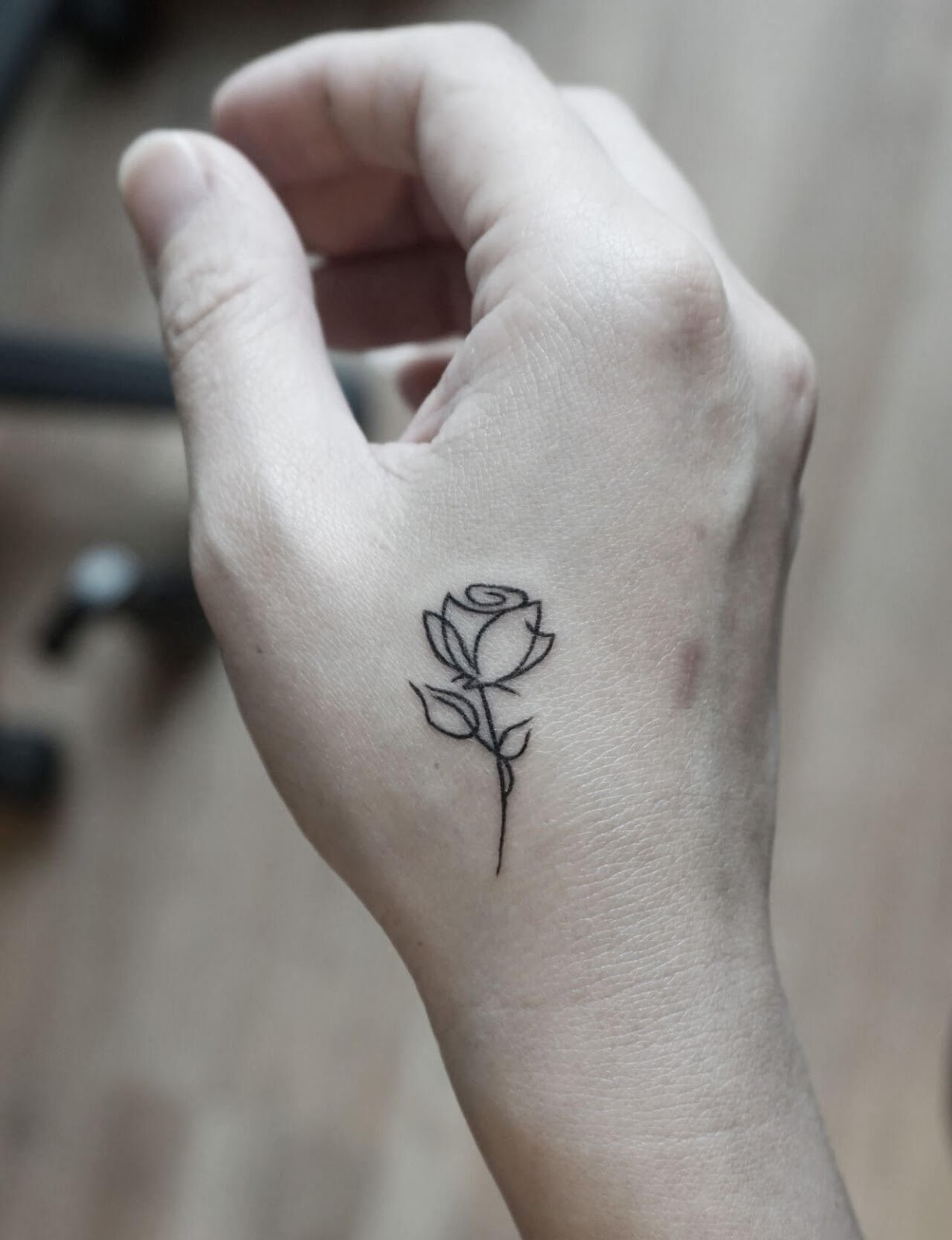 Rose And Flower Tattoos (2)